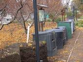 Compost Bins-Garden of the Sun