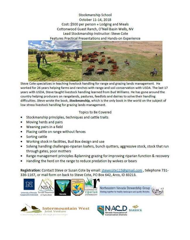 stockmanship school for Ranching in the Sierra Foothills Blog