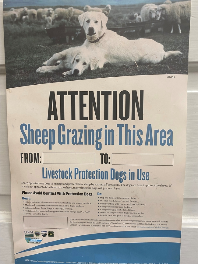 Wildlife Services LGD poster