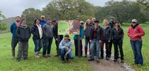 Spring 2019 SRJC Range Management Class at Sonoma County Regional Park: Taylor Mountain for Outstanding in the Field: Views from North Coast Rangeland Blog