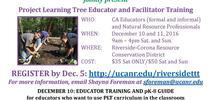 2016 PLT SoCal TTT flyer for Riverside County 4-H Blog
