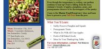 1-up Nov flyer for Master Food Preservers San Bernardino County Blog