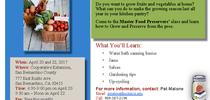 April 22 2017 1-up Apr 17flyer for Master Food Preservers San Bernardino County Blog