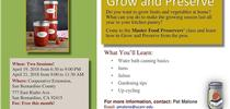 Work March April classes 2018 for Master Food Preservers San Bernardino County Blog