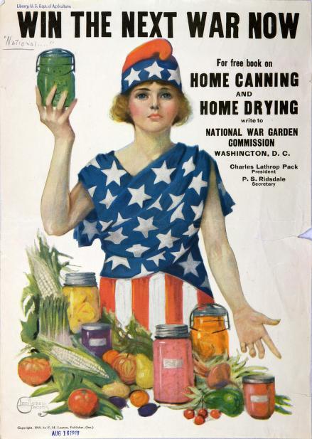 Patriotic Patriotic canning