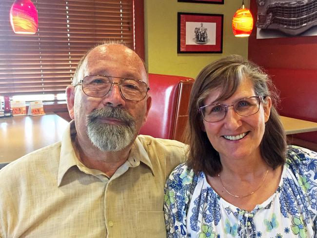 San Bernardino Coynty Master Gardeners Bob and Sharon Yocum