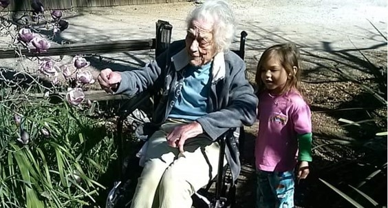 Gardening with Grandma!