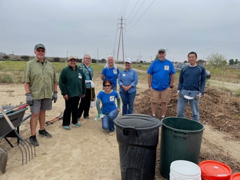 Root 66 Composting Start Day Team