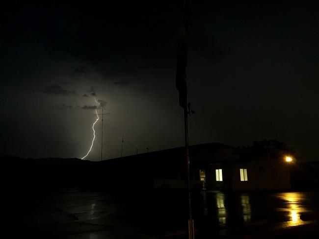 Lightening at South Coast REC