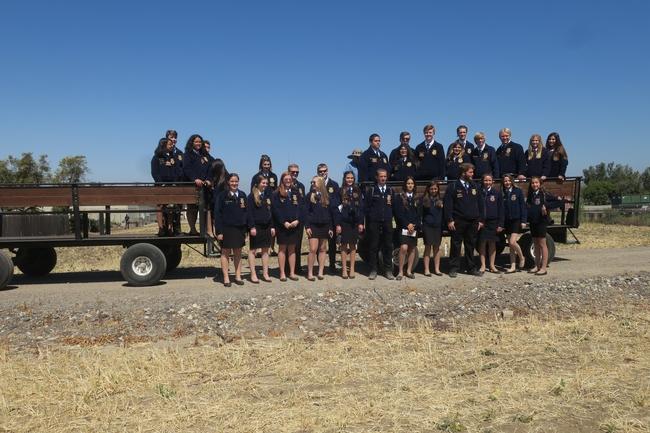 FFA students visit South Coast REC.