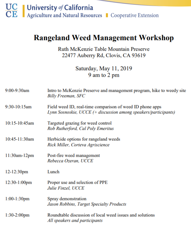 May 11 Rangeland Meeting