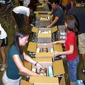 Volunteers working at food bank 2