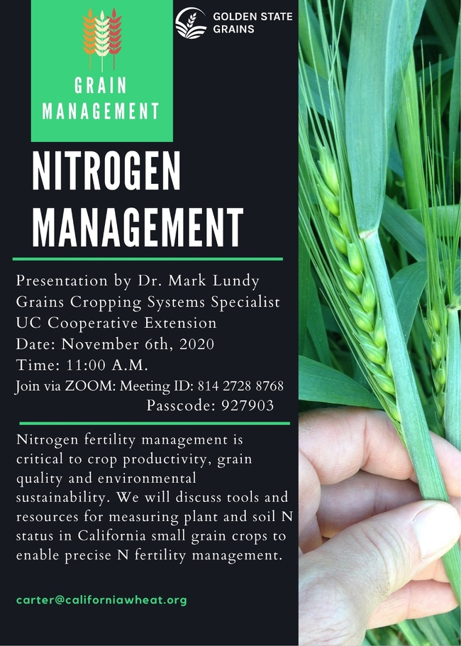 Nitrogen Management Webinar
