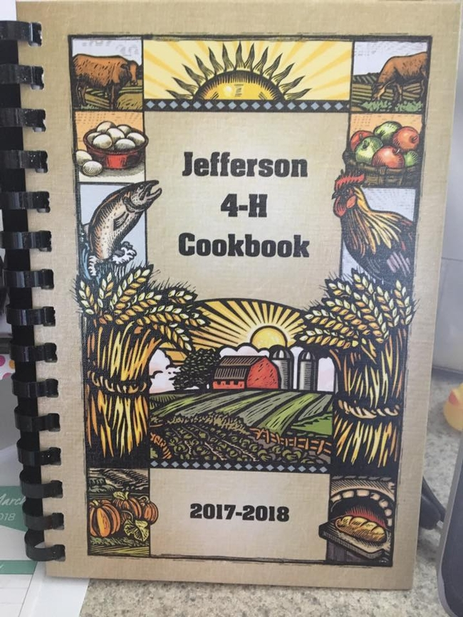 Jefferson 4-H Cookbook