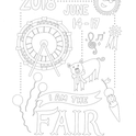 San Joaquin Fair coloring contest