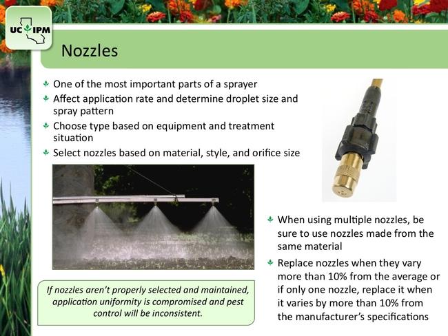 calibration nozzles