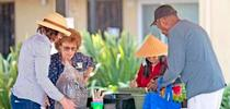 UC Master Gardeners at an event. for The Stanislaus Sprout Blog