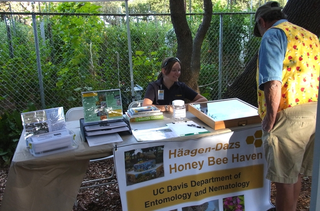 Haven display at Harvest Day 2014