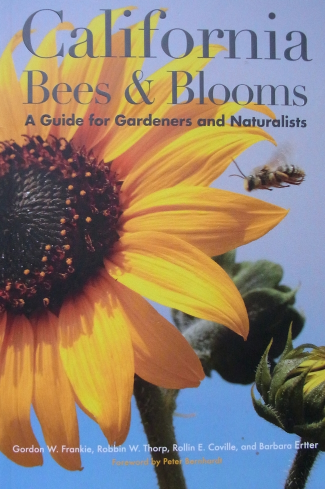 Cover of the new book CA Bees and Blooms