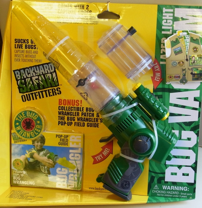 Bug vaccuum for bee collecting