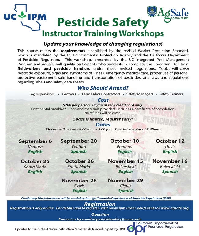 pesticide training Page 1