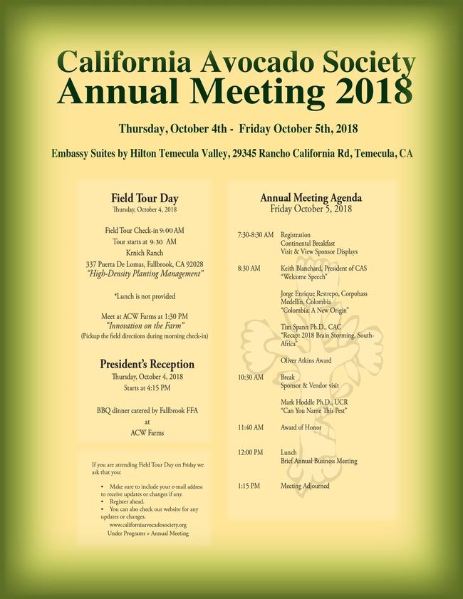 CAS annual meeting