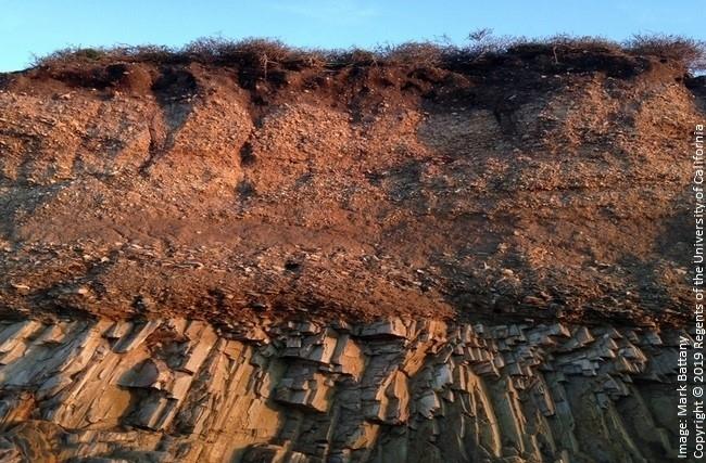shallow bedrock