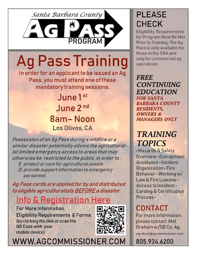 Ag Pass Flyer 2021