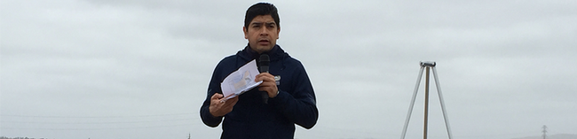Samuel Sandoval Solis, Ph.D., UC Cooperative Extension specialist in the Department of Land, Air and Water Resources at UC Davis