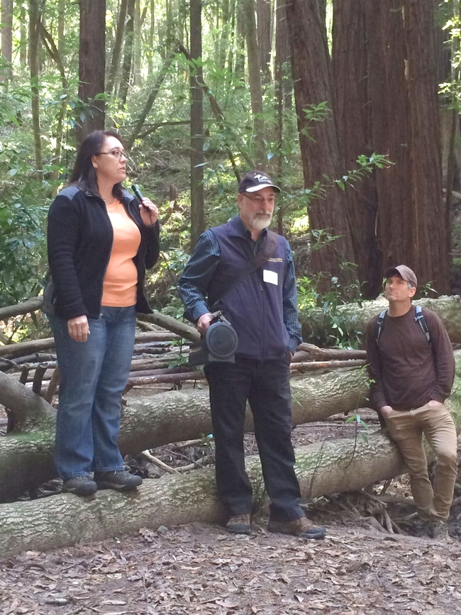 Nina Hapner, Kashia Band of Pomo Indians, describes SOD management in their forests.