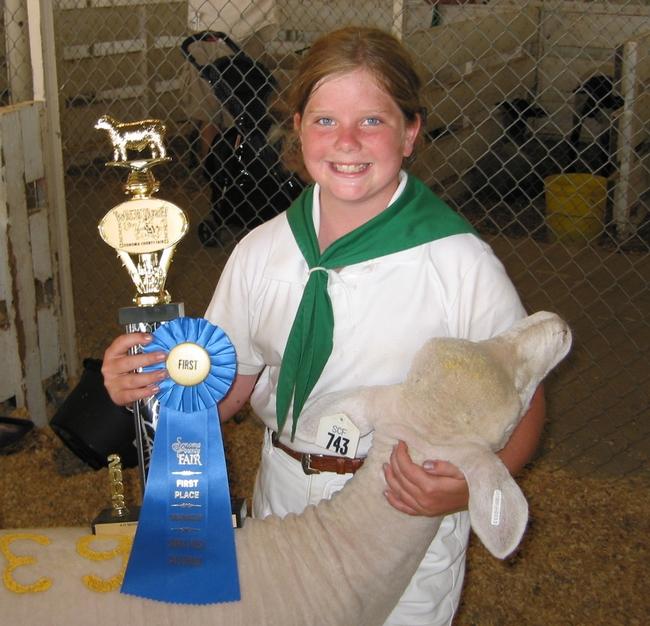 SCFair Winning Lamb