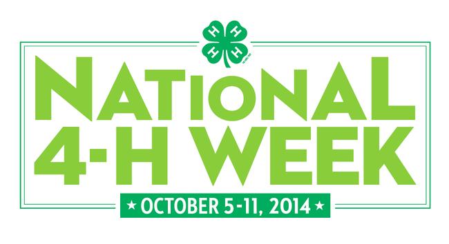 4-H Week 2014 logo