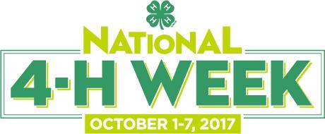4-H Week 2017 logo