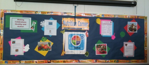 Nutrition Corner Chavez