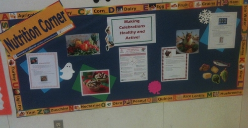 This month's theme is healthy holiday celebrations.