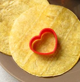 Heart Shaped Tortilla