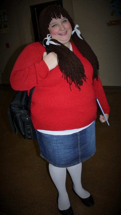 Shawna Rogers as the OrganWise Gal