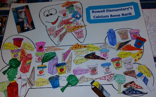What calcium-rich foods do you like to eat to fill up your bone bank?