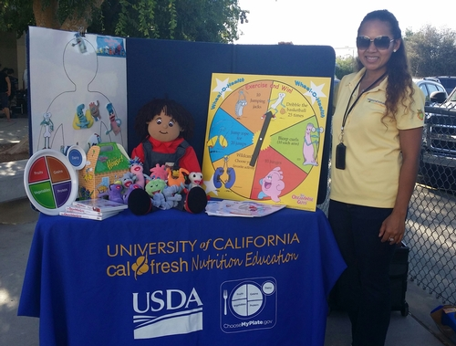 Nath Say, UC CalFresh Nutrition Education Program Coordinator for Rowell Elementary