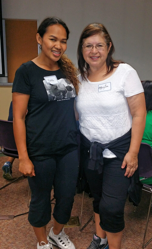We are excited to see that one of our Pre-K teachers from Rowell Elementary, Mrs. Zamora attended the workshop! Mrs. Trujillo, from Leavenworth also attended but is not pictured.