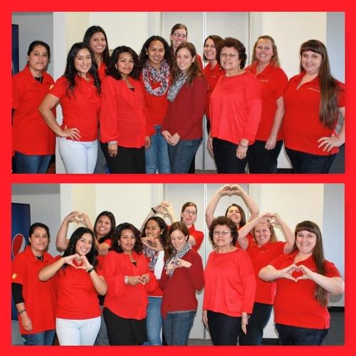 Wear Red Day 2016- 6