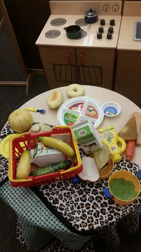MyPlate in use in Mrs. Tinoco's PreK classroom at Calwa Elementary