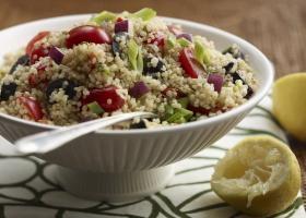 Mediterranean Quinoa Salad  B-25r Cropped A