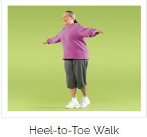 Heel-to-Toe Walk