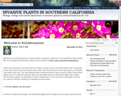 Invasive Plants in Southern California blog