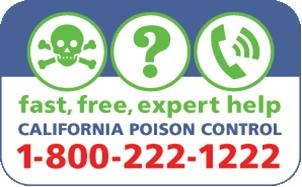 Poison control logo.