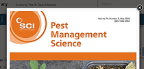 Vol 74 Pest Manage Sci for UC Weed Science Blog