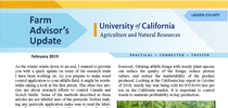 Farm Advisors Update 2019-Feb for UC Weed Science Blog