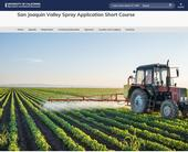 SJV spray applic shortcourse