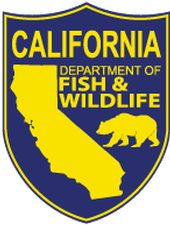 CA Dept. Fish & Wildlife shield